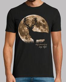ciervo luna