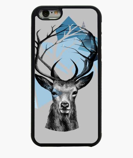 Funda iPhone 6 / 6S Ciervo ramas montaña y animales
