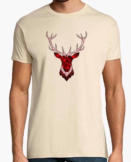 Camiseta ciervos rojos inconformista