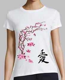 ciliegio giapponese - calligrafia