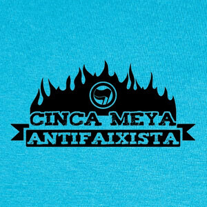 Tee-shirts Cinca Meya Antifaixista