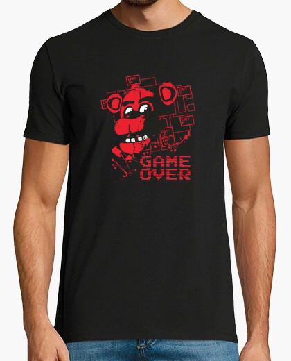 Camiseta cinco noches en freddys juego más
