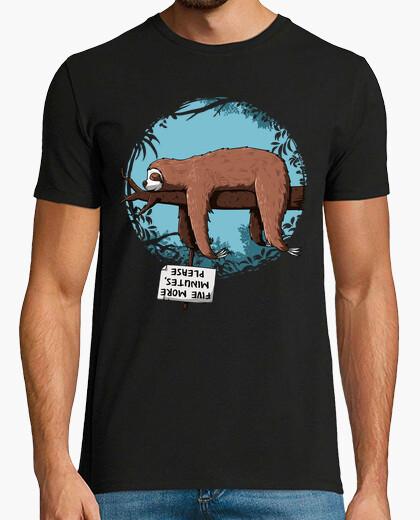 Tee-shirt Cinq minutes s'il vous plaît ...