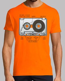 Cinta cassette Camisetas frikis