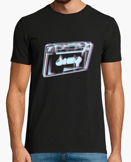 Camiseta cinta de cassette vaporwave...