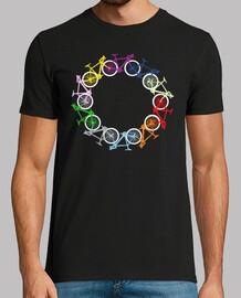 círculo de bicicletas