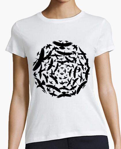 Camiseta Circulo de pajaros