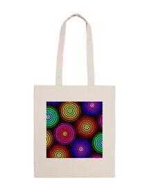 círculos de color bolsa