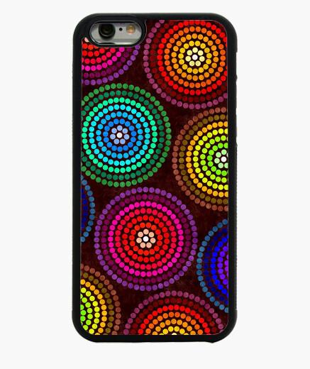 Funda iPhone 6 / 6S círculos de colores