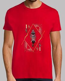 ciseaux rouge  homme
