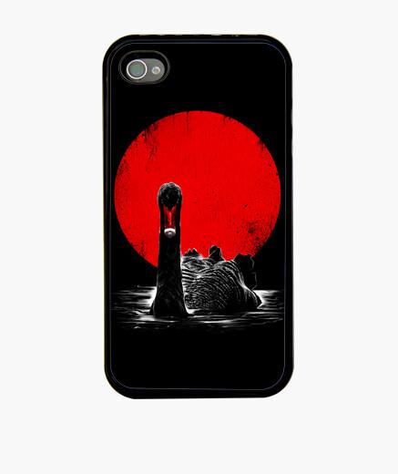 Funda iPhone cisne de la medianoche