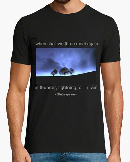 Camiseta Cita de Macbeth (Shakespeare)