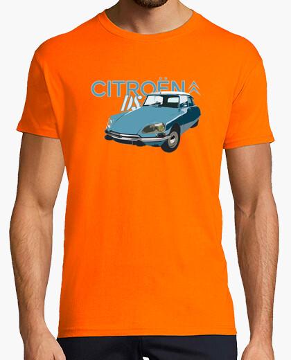 Camiseta citroen ds 2 colores chico