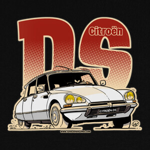 Camisetas CITROEN DS BLANCO