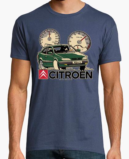 Camiseta CITROEN XSARA VERDE MOLDURAS