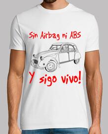 Citroën 2 cv. Sin Airbag ni Abs y...