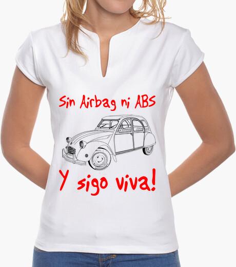 Camiseta Citroën 2 cv. Sin Airbag ni Abs y...