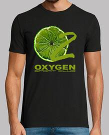 citron  tee shirt  de logo  homme