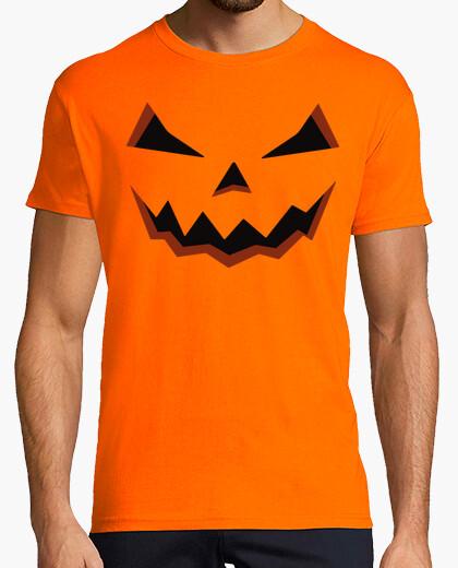 Tee-shirt citrouille d' halloween man