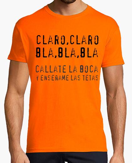 acab6a840 Camiseta Claro