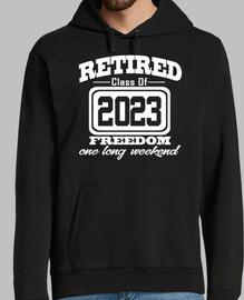 clase jubilada de 2023 libertad fin de