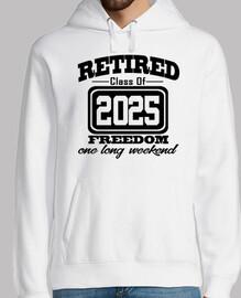 clase jubilada de 2025 libertad fin de