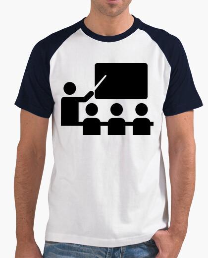 Tee-shirt classe de tableau de professeur