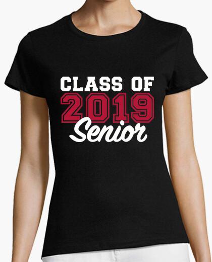 T-shirt classe di 2019 senior
