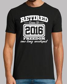 classe pensionata del 2016 libertà settimana lunga