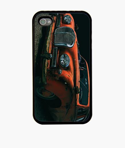 Funda iPhone Classic red car