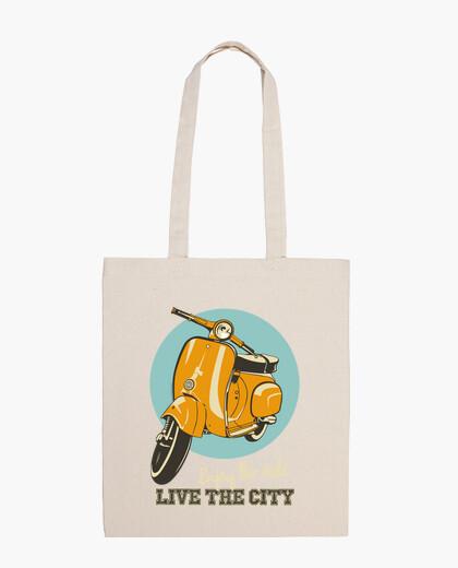 Borsa classic scooter - dal vivo città