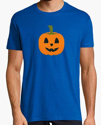 T-shirt classica zucca di halloween