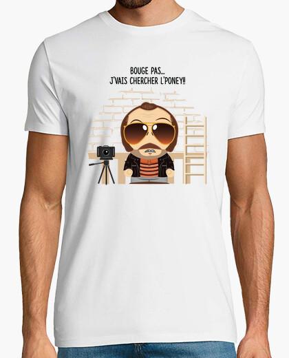 Tee-shirt Claudy Focan et le poney