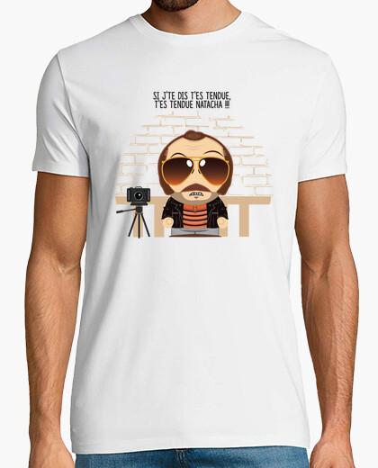 Claudy focan versus natacha t-shirt
