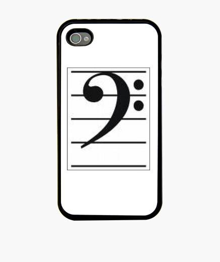 Funda Iphone Clave De Fa En Pentagrama Nº 292103 Fundas Iphone