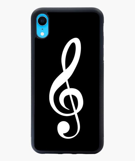 Clave de sol Funda iPhone XR XR musical