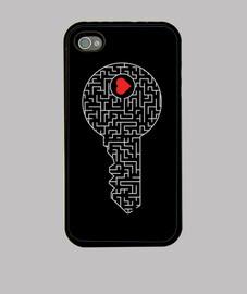 clé de votre cœur (argent)