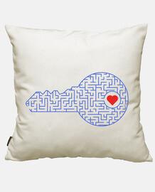 clé de votre cœur (bleu)