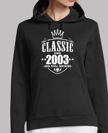 clessique depuis 2003