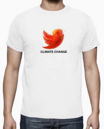 Camiseta Climate change