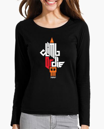 Camiseta Climb or die