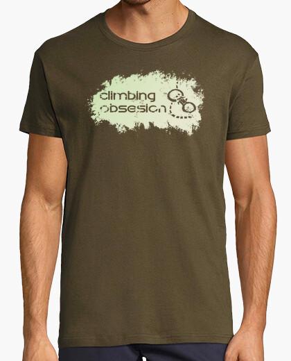 Camiseta climbing obsesion black