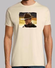 Clint Eastwood fond beige