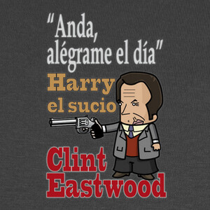 Camisetas CLINT EASTWOOD. HARRY EL SUCIO