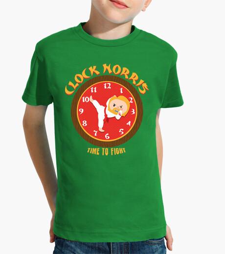 Clock norris children's clothes