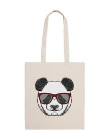 cloth bag, panda