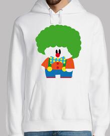 clown à bulles