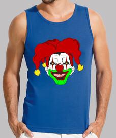 clown horreur avec le chapeau gai.