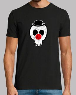 clown skelett mann