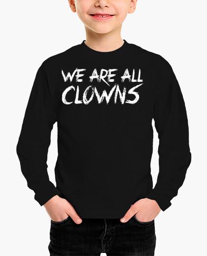 Vêtements enfant clowns